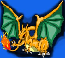 Charizard by MaverickHunter-Zer0