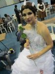 Hunger Games Katniss Everdeen WEdding Dress Makeup by Neko-Leara