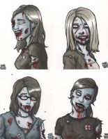 Zombie Girls by WizardOfAuz