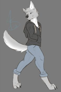 Walking cool~ by Shockley23