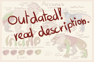 Arcanus Feral Species sheet Remake OUTDATED by Velkss