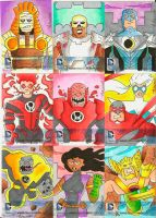 DC52 Sketch Cards 11 by zaymac