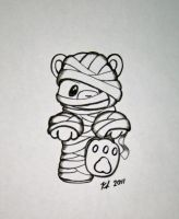 Teddy Mummy by knezak