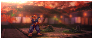 Akuma Sprite (Animated) by The35thChamber
