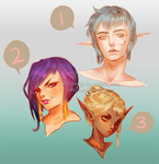 [OPEN #2 Avail] Sketch Portrait Adopts by Valkymie