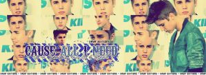 Facebook Cover Justin Bieber HQ by AbbeyDenith