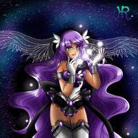 Sailor Andromeda Imperial Form -- 2015 by HatterRose