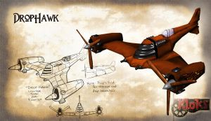Drophawk by GninjaGnome