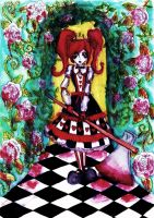 The Queen of Hearts by GothiLalita
