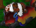Warm Wooded Nap by Yellow-K9