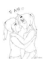 Elricest: Te amo by edelricfan