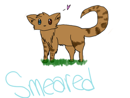 Smeared :GIFT: by IriisKitty