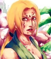 Tsunade by rizu25