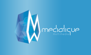 Logo for Mediatique by chrisislt