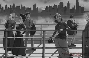 The Cruise - Film Noir version by Spidersaiyan