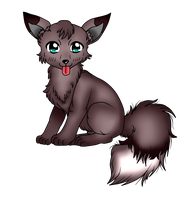 CONTEST ENTRY: ADOPTABLE WOLF by khadijahmuslimah
