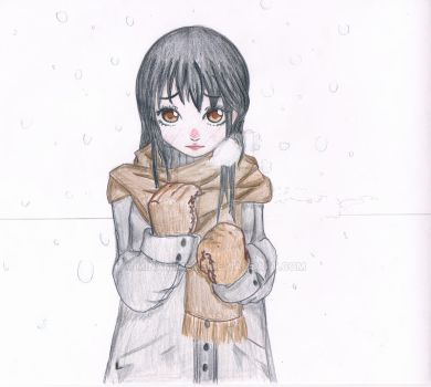 Me In Snow by minamimeme