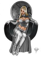 Emma Frost Q 3 by FTacito