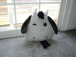 Goat Head Pillow by XOFifi