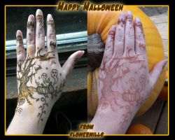 Halloween Henna 2011 by flowerwills