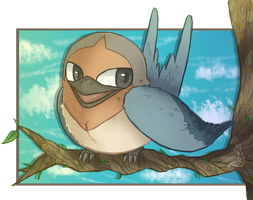Beatrice the Taillow by PsykoaktiveFantasi