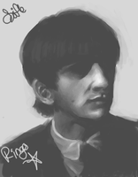 Ringo Starr by Sifle