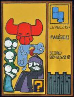 Tetris by YourFathersMustache
