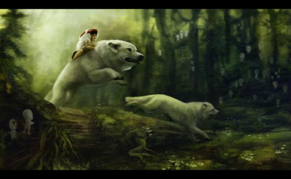 Princess Mononoke - Final by Noukah