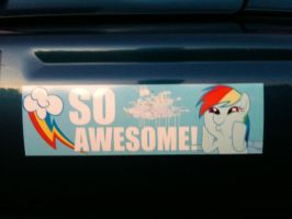 My Little Bumper Sticker by Sugarcube-Corner