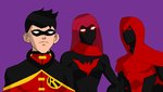 Young Justice Beyond by VaderNihilus