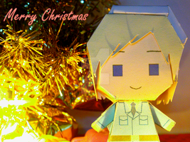 Christmas Finland paper craft by comics-art-girl