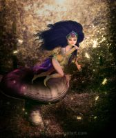 Flying Fairy by doredore