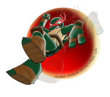 Raph Bubble by OrangeBlueCream