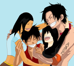 OP Already a family by saberwolfgirl