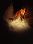 Die Trying by LittleBuckaroo-Stock