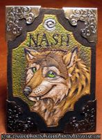 Leather Badge: Nash by Nashoba-Hostina