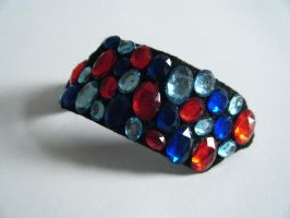 Jewelled Cuff by letmeusemyname