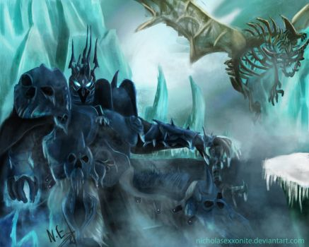 The Lich King by NicholasExxonite