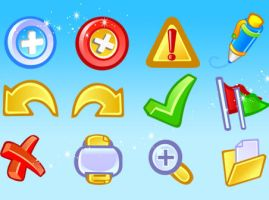 Vector Basic Icons by freevectordownload