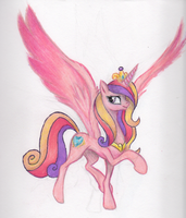 Princess Cadence by BenRusk