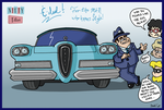 Nifty 50's: ''Dramatic'' Edsel ''Styling'' by AgentC-24