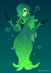 The Witch of the Deep by umphbreada