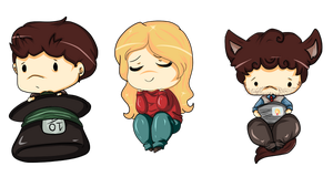 OUAT: Chibis by SheriffGraham