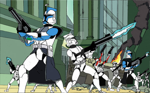 Clone Trooper Assault. V2. by Challenger3