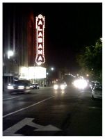 Alabama Theatre by tearusapart