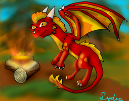 I just want to burn wood by Lydiadragon