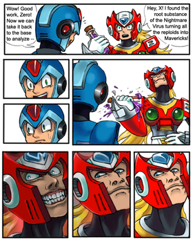 Megaman Zero Card Crusher by cyborgraptor
