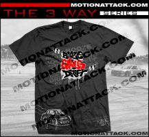 The 3 way series Tshirt by motion-attack