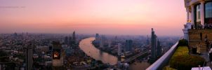 Bangkok panorama by phantastes