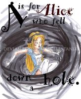 A is for Alice by ScelestaNix